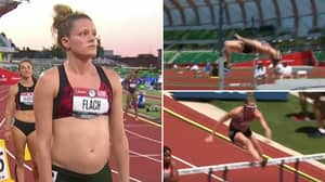 'Bada**' Lindsay Flach Competes At Olympic Trials While 18 Weeks Pregnant