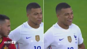 Kylian Mbappe's Reaction To Eden Hazard Appearing To Say 'Hala Madrid' Is Priceless