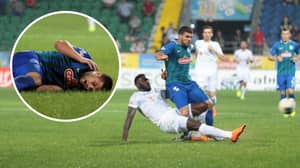 Turkish Super Lig Forward Moestafa El Kabir Had A Nightmare Day