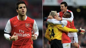 Cesc Fabregas Tells His Twitter Followers He'd Love A Return To Arsenal, But There's A Catch