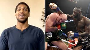 Anthony Joshua Issues Message To Deontay Wilder And Tyson Fury, Predicts How Fights Would End