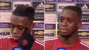Aaron Wan-Bissaka Forgetting Which Goal He's Talking About Is Already 2021's Best Moment