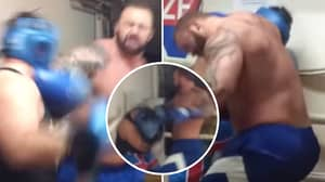Game Of Thrones' 'The Mountain' Relentlessly 'Mauls' Opponent During Sparring Session