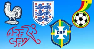 QUIZ: Can You Name These 20 National Teams By Their Badges?