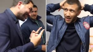 Lomachenko's Hilarious Reaction To Eddie Hearn Saying Campbell Will Beat Him Is Priceless