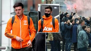 Harry Maguire And Bruno Fernandes Left 'Furious' After They Weren't Allowed To Speak To Manchester United Protestors