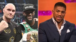 Anthony Joshua's Response When Asked Which Of His Rivals He Prefers To Fight Next