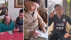Lionel Messi Sends Message To 100-Year-Old Argentina Fan Who Documents His Every Goal