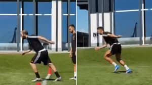 Sprint Test Between Cristiano Ronaldo And Gonzalo Higuain Is The Best Thing You'll See Today