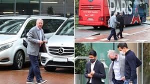 Sir Alex Ferguson Visited The PSG Team Hotel Before Champions League Clash Against Manchester City