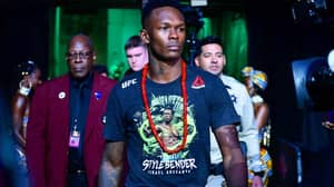 UFC Middleweight Champion Israel Adesanya Named Fighter Of The Year
