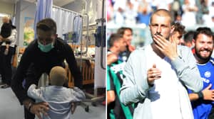 Italy Defender Francesco Acerbi Went Above And Beyond To Spend Time With Children At Hospital