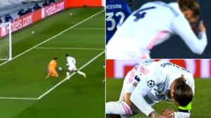 Sergio Ramos Almost Fainted After Vinicius Junior Missed A Sitter For Real Madrid