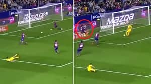 Watch: Levante Defender Produces The Worst Piece Of Defending You'll See This Weekend