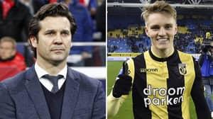 Ajax Preparing To Make A Move For Real Madrid's Martin Ødegaard