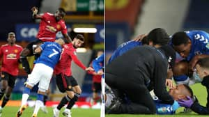 Eric Bailly And Richarlison Share DMs After Head Injury Incident