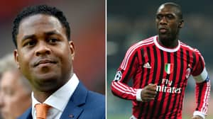 Clarence Seedorf Named Cameroon Manager, Patrick Kluivert Joins Him As Assistant