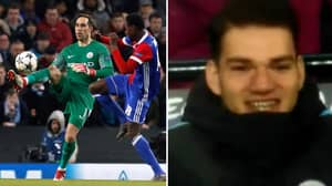 Watch: Claudio Bravo Ruins Basel Player, Ederson Reacts Brilliantly