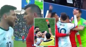 Close-Up Replay Showed Lionel Messi Was Hardly At Fault In His Altercation With Gary Medel