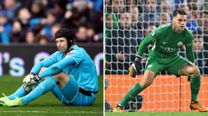 Shocking Penalty Stat Involving Ederson And Petr Cech Emerges