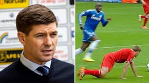 """Six Years Later And Steven Gerrard Admits He STILL Thinks About The Slip Against Chelsea """"All The Time"""""""