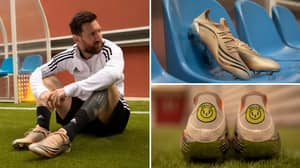 Adidas Launch Special 'El Retorno' Boot To Celebrate Legacy Of Lionel Messi And It's A Serious Throwback