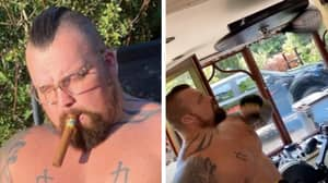 Eddie Hall Shares Pictures Of His Impressive Weight Loss Ahead Of 'The Mountain' Fight