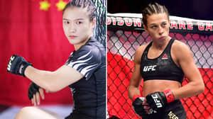 UFC Champ Weili Zhang Calls Out Joanna Jedrzejczyk Over Coronavirus Meme