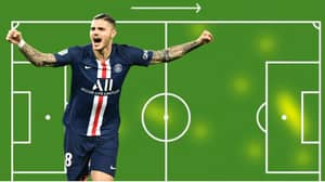 Mauro Icardi Had Just 13 Touches Against St-Etienne, Still Scored A Hat-Trick