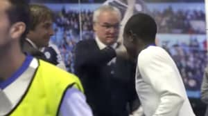 WATCH: The Brilliant Reunion Between Former Leicester Heroes Kante And Ranieri
