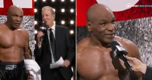 Mike Tyson's Hilarious Post-Fight Interview: 'Why'd Nobody Care About My Ass?'