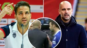 The Exact Moment That Cesc Fabregas And Pep Guardiola's Relationship Broke Down
