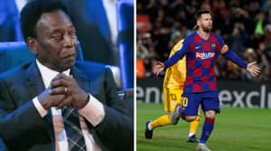 Pele Names Lionel Messi As The World's Most Complete Player