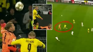 'Superhuman' Manuel Neuer Managed To Destroy Erling Haaland In The Air While Playing Sweeper Keeper