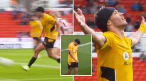 An Emotional Raul Jimenez Scores First Goal Since Fracturing Skull, You Can See How Much It Meant