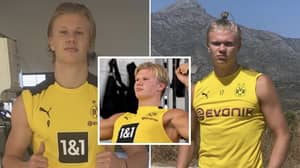 Erling Haaland Has Put On A Stone Of 'Pure Muscle' And His Body Transformation Is Remarkable
