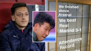 Mesut Ozil Has Brutally Trolled Tottenham's Defeat To Man City With Massive 'Sh*thouse Tweet'