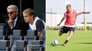Romeo Beckham, 19, Has Signed His First Professional Football Contract