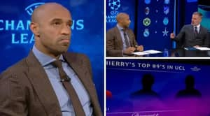 Thierry Henry Names His Top Three Strikers In This Season's Champions League