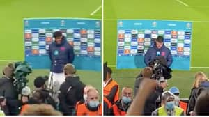 Footage Shows Scotland Fans Taunting England Pair Tyrone Mings And Declan Rice After 0-0 Draw At Wembley