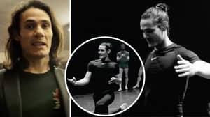 Man United Target Edinson Cavani Has Been Training In Ballet After Leaving Paris Saint-Germain