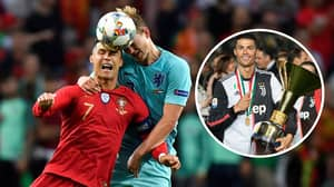 Cristiano Ronaldo Asked Matthijs De Ligt To Snub Barcelona And Join Juventus Instead