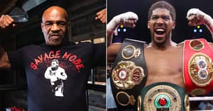 Mike Tyson Says He's Willing To Fight Anthony Joshua After Beating Roy Jones