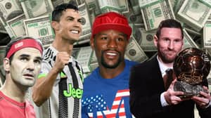 The Top 10 Highest Paid Sport Stars Of The Decade Revealed