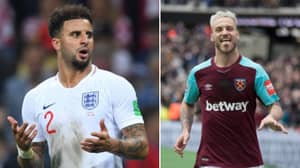 Marko Arnautovic Overheard Teasing Kyle Walker Over 'It's Coming Home'