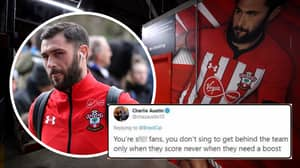 Charlie Austin Calls Southampton Fans Sh*t Before Deleting Tweets