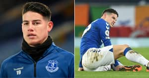 James Rodriguez Linked With Move Away From Everton As He Is 'Unhappy' In England