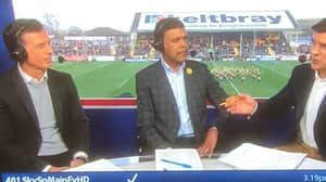 Chris Kamara Leaves Fans Confused After He Does Punditry For Rugby League Game