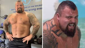 Strongman Eddie Hall 'Nearly Bled To Death' After Weights Landed On His Penis