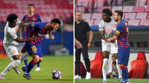 Barcelona President's Stupid Response When Alphonso Davies Was Recommended To Him